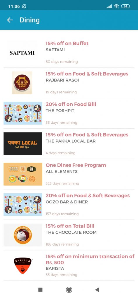 Offers-list-screen